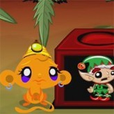 monkey go happy elves game