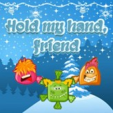 hold my hand, friend game