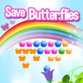 save butterflies game
