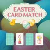 easter card match game