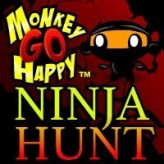 monkey go happy ninja hunt game