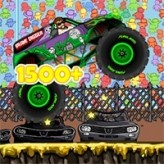 monster truck zombie crusher game