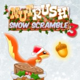 nut rush 3 - snow scramble game
