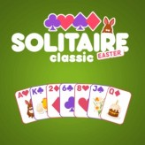 solitaire classic easter game