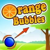orange bubbles game