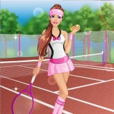 barbie tennis game