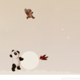 panda and squirrel game