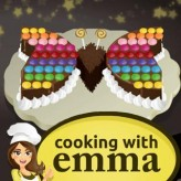 butterfly chocolate cake - cooking with emma game