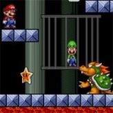super mario save luigi game