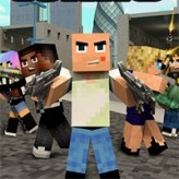 blocky gangster warfare game
