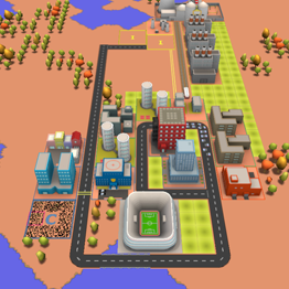 3d City Builder Play Game Online