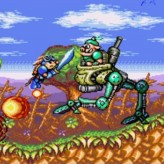 rocket knight adventures game