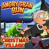 angry gran run christmas village game