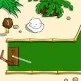 island mini-golf game