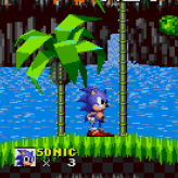 sonic the hedgehog - westside island game