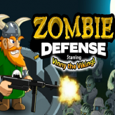 zombie defense - starring vinny the viking game
