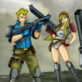 contra - hard corps game