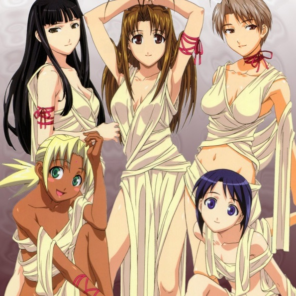 love hina dating rpg sim flash game