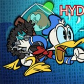 donald duck in hydro frenzy game