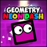 geometry neon dash game