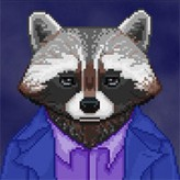 the raccoon who lost their shape game