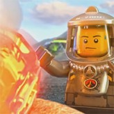 lego volcano interactive game