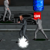no longer surrender: trump vs fraud news game