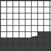 pixels filling squares game