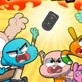 remote fu gumball game