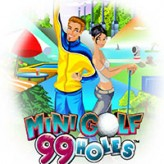 mini golf: 99 holes game