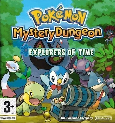 Pokemon mystery dungeon: explorers of the sky play game online.