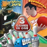 3 in 1: Paintball Splat Dodgeball, Dodge This, Big Alley Bowling game