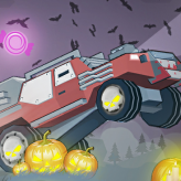 uphill halloween racing game