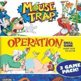 3 In 1: Mousetra, Simon, Operation game