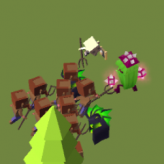 Blocky Battle game