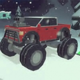 3D Monster Trucks: IcyRoads game