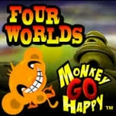Monkey GO Happy Four Worlds game