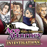 Ace Attorney Investigations: Miles Edgeworth game
