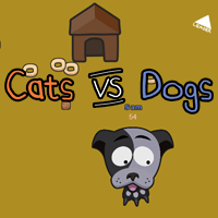 Cat vs Dog Game - Play online at Y8.com