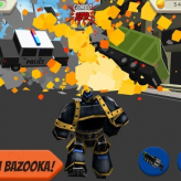 Robot Hero: City Simulator 3D game