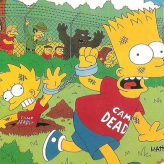 The Simpsons: Escape From Camp Deadly game