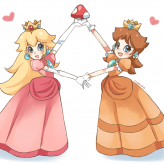 Peach & Daisy In The Ultimate Quest game