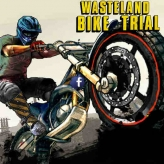 Bike Trials: Wasteland game