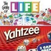 3 In 1: Life Yahtzee Payday game