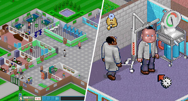 play theme hospital online free