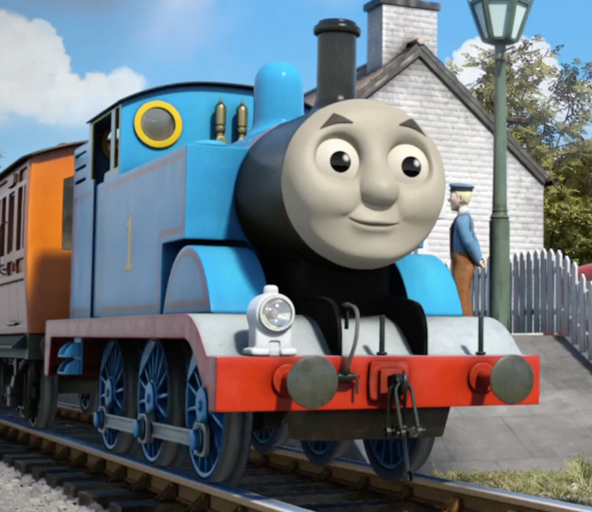 Thomas The Tank Engine And Friends Play Game Online