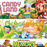 Candy Land & Chutes And Ladders & Memory game
