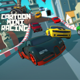 Cartoon Mini Racing game
