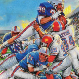 NES Play Action Football game