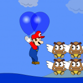 Super Mario Bros. Balloon Trip game